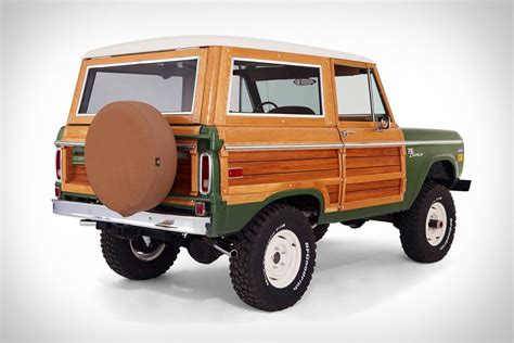 1960s ford bronco woody ford bronco uncrate