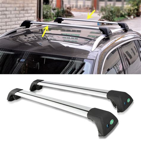 Roof Rack Cross Bars Canada by For Jeep Compass 2007 2015 Car Top Roof Rack Cross Bars