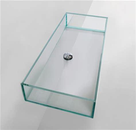 bagno in vetro lavabi in vetro