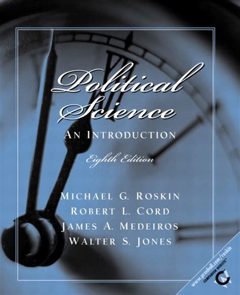 Political Science An Introduction by Roskin Cord Medeiros Jones Political Science An