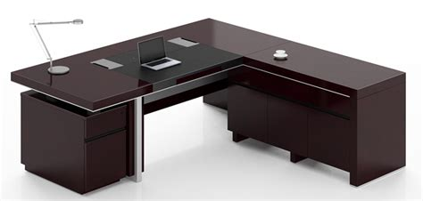 Executive Desks Modern Professional Office Desk Sleek Modern Desk Executive
