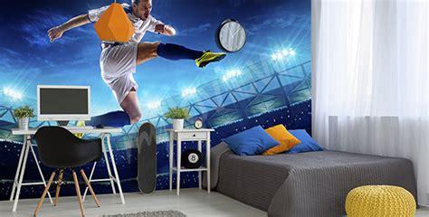 Tapisserie Foot by Papiers Peints Football Mur Aux Dimensions Myloview Fr