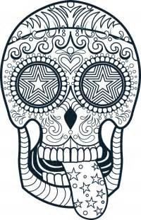 sugar skull coloring page free coloring pages of sugar skull pony