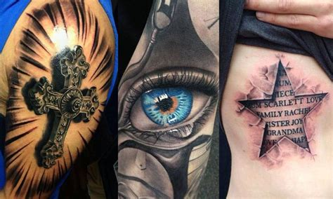 best tattoos for men pictures 25 best ideas about 3d tattoos for on 3d