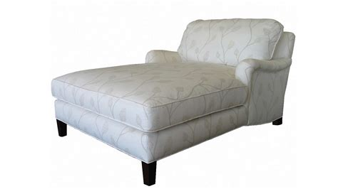 plush home chelsea double chaise lounge