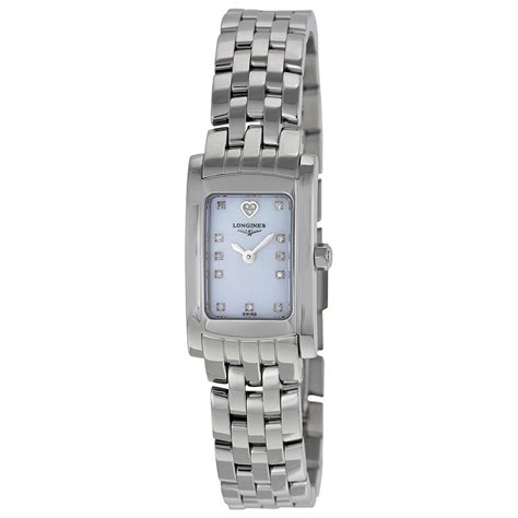 mother of pearl l longines dolce vita mother of pearl dial ladies