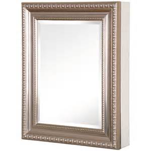 framed mirror medicine cabinet pegasus deco 20 quot x 26 quot medicine cabinet reviews wayfair