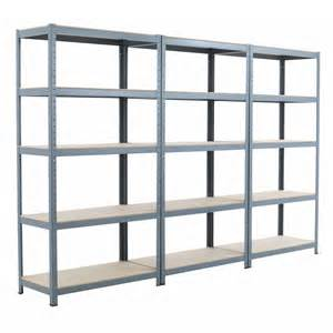 Garage Shelving Metal 3x New 5 Shelf 71 Quot Hx36 Quot Wx18 Quot D Gray Garage Metal Steel