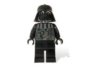 lego 174 wars darth vader minifigure clock lego shop