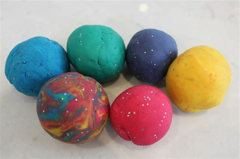 Handmade Playdough - glitter play dough recipe my kid craft