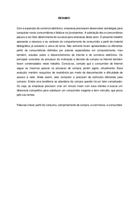 COMPORTAMENTO DO CONSUMIDOR NA JORNADA DE COMPRA ONLINE