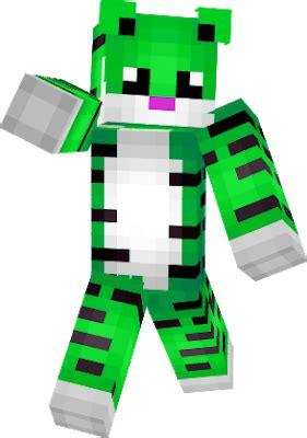 Top Green 14729 tiger skin