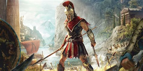 assassins creed origins 2018 assassin s creed odyssey trailer it s basically 300 screenrant