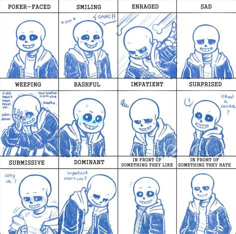 Facial Expression Memes - undertale expression meme by takitorishido on deviantart