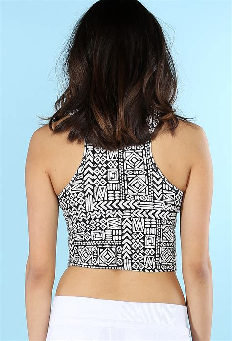 abstract pattern crop top dress abstract pattern crop top shop dresses at papaya clothing