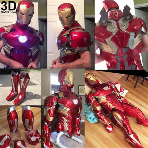 printable suit thanos iron man mark xlvi fusion