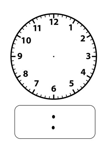 blank clock template blank clock faces by stevm117 teaching resources tes
