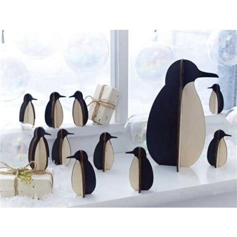 all souls penguin modern modern gifts for all occasions penguin silhouette holiday decorations want these for the