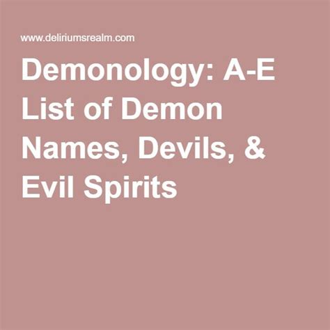 book of demons names and pictures 15 best ideas about demonology on archangel