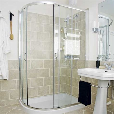 corner baths with shower bathroom with corner shower shower rooms image housetohome co uk