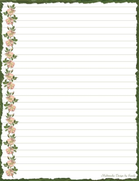 border paper for writing pin by burlesonlady on lined paper borders
