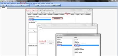 qlikview trigger tutorial creating macro s in qlikview using vbscript audministrator