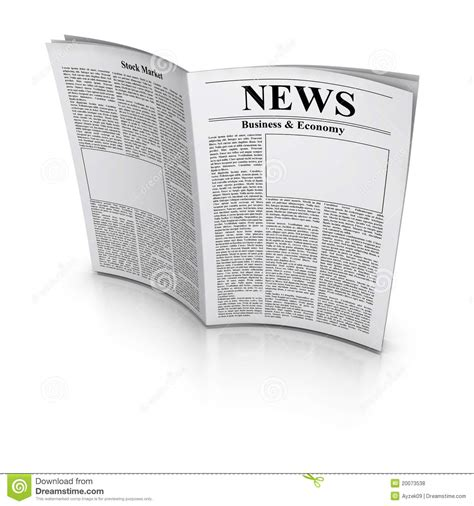 Royalty Free Newspaper Pictures Images And Stock Photos Istock Newspaper Royalty Free Stock Photos Image 20073538