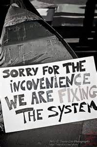 Occupy sydney sorry for the inconvenience we are fixing the system