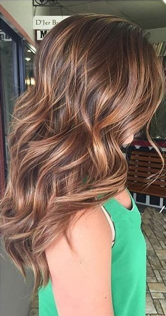 low maintenance hair color coppery highlights low maintenance hair color