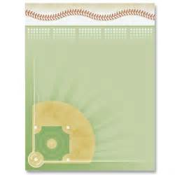 baseball diamond border papers paperdirect