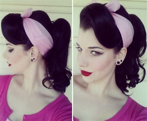 Pin Up Ponytail Hairstyles by The Best 30 Pin Up Hairstyles For Glamorous Retro
