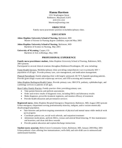 Practitioner Resume by 12 Nursing Resume Template