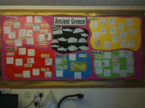 ancient greek monsters display ancient greece language through colour display