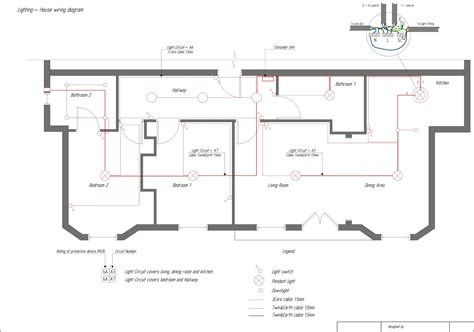 home lighting circuit design domestic electrical wiring tutorial diagram collection