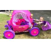 Disney Car Curtains Princess Carriage Ride On Toy