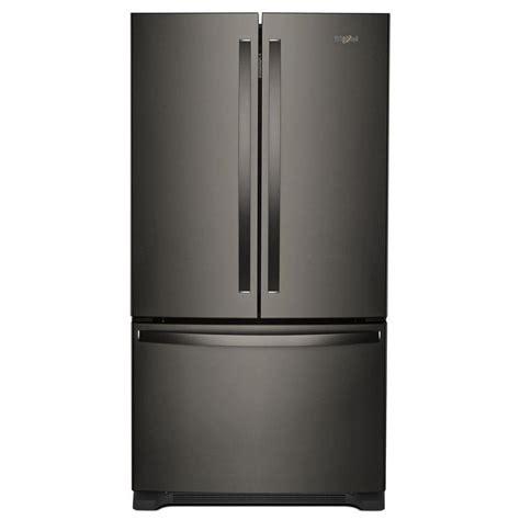 whirlpool 25 cu ft refrigerator door shop whirlpool 25 2 cu ft door refrigerator with