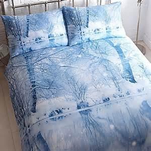 Winter Duvets Winter Wonderland Duvet Cover Amp Standard Pillowcase Set By