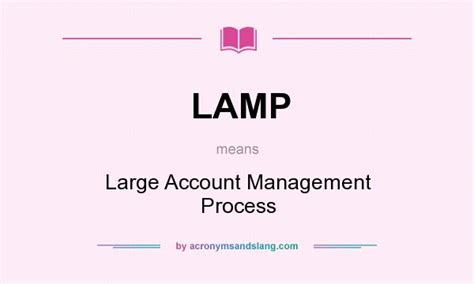 l large account management process in undefined by