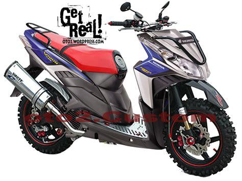 Shock Breker Mio J motor cycle modifikasi modifikasi honda vario cbs techno