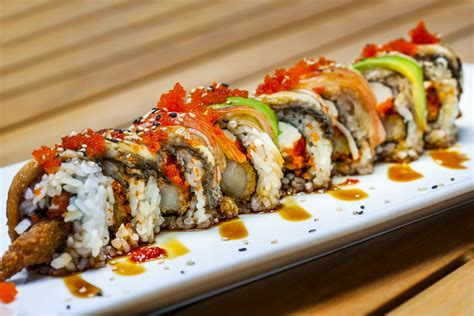 Sushi Roller Roll Sushi Sushi Roll sushi quarterdeck seafood bar neighborhood grill