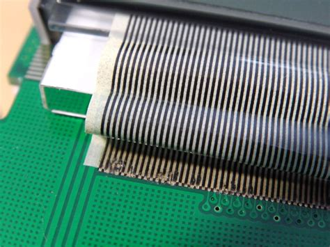 repair  ribbon cable connection  consumer