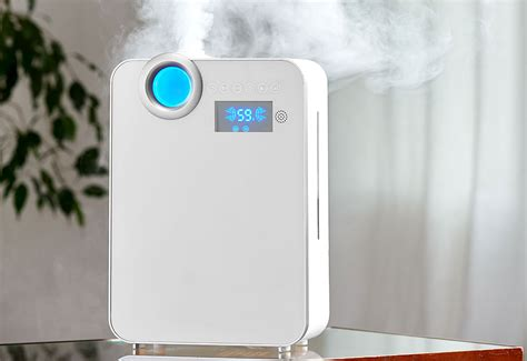 smart mist ultrasonic humidifier  sharper image
