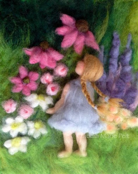 felted paintings images  pinterest fedoras
