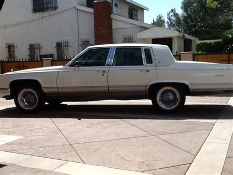 1991 cadillac sedan for sale cadillac brougham sedan 1991 white for sale