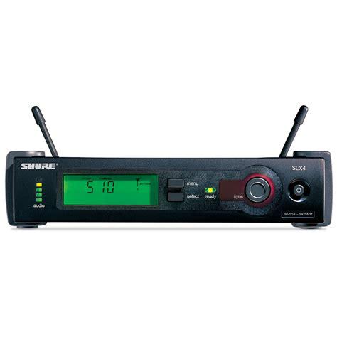 Mic Wireless Shure Slx 4 Beta 58 Single Mic Professional shure slx24 beta58 q24 171 wireless systems