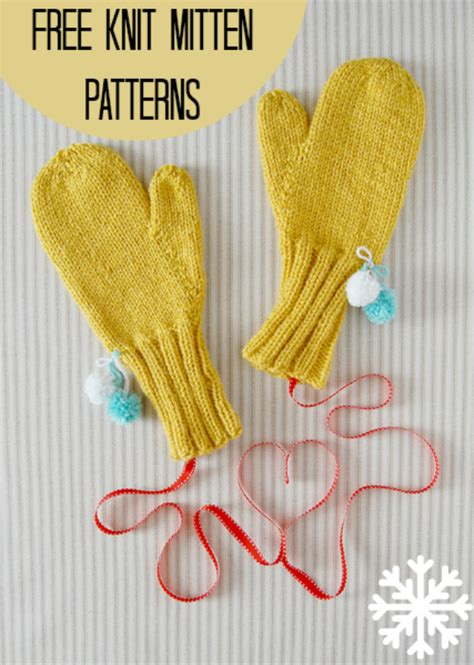all free knitting knit baby mittens knit baby mittens free pattern print