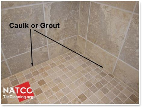 what kind of grout for bathroom floor where should grout and caulk be installed in a tile shower