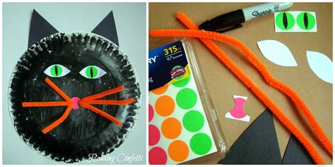 Construction Paper Crafts For 4 Year Olds - 3 paper plate crafts for reading confetti