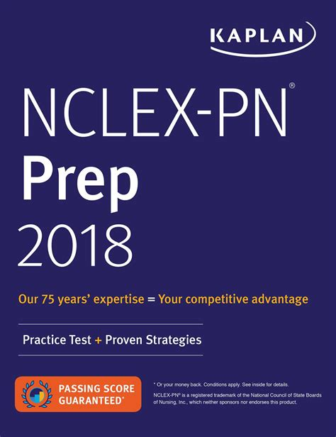 ged test prep 2018 2 practice tests proven strategies kaplan test prep books nclex pn prep 2018 book by kaplan nursing official