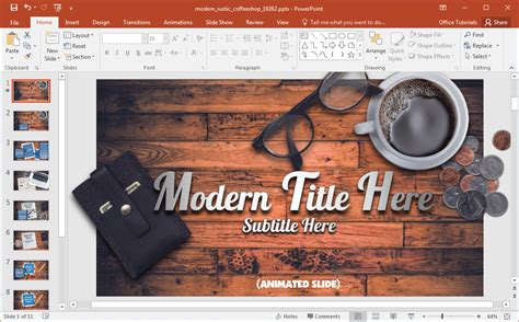 Animated Coffee Shop Template For Powerpoint Free Coffee Website Templates